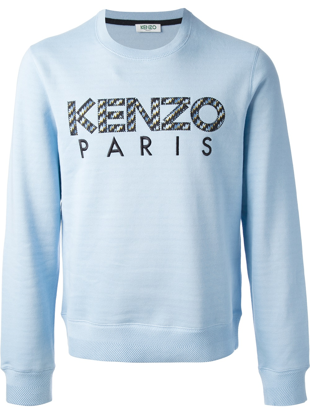 4a10a888 KENZO 'icon' Sweater in Blue for Men - Lyst