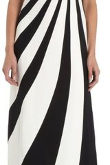 Lisa Perry Optic Swirl Maxi Dress - Lyst
