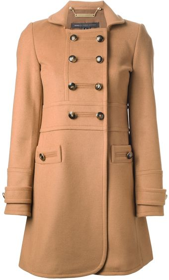 Marc By Marc Jacobs Boxy Peacoat - Lyst