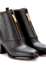 Marc By Marc Jacobs Aurely Leather Ankle Boots - Lyst