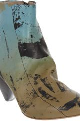 Marsell Abstract Print Ankle Boot - Lyst