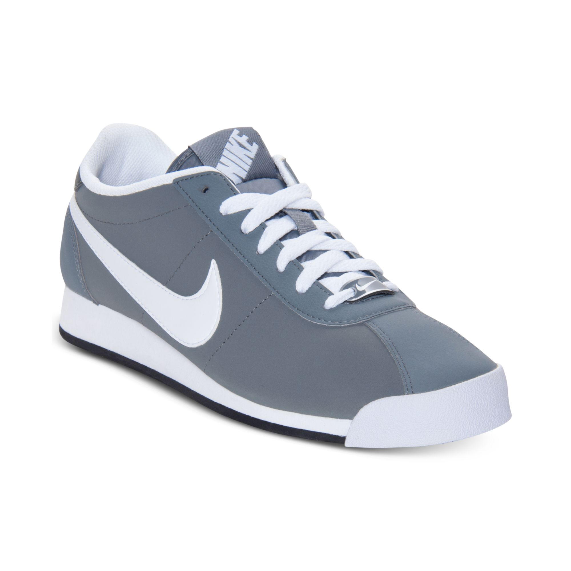Nike Men'S Marquee Leather Casual Sneakers From Finish ...