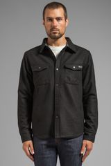 Nixon Corporal Jacket in Black - Lyst