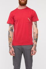 Saturdays Surf Nyc Randall Slash Pocket Tee - Lyst