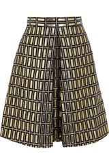 Temperley London Metallic Jacquard Skirt - Lyst