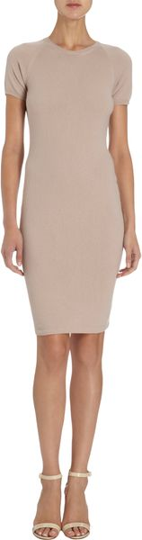 Tomas Maier Short Sleeve Dress - Lyst