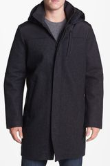 Victorinox Shuttle Wool Blend Coat - Lyst