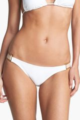 Vix Side Trim Bikini Bottoms - Lyst