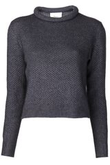 3.1 Phillip Lim Chop Roll Sweater - Lyst