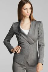 Armani Blazer Crossover Button - Lyst