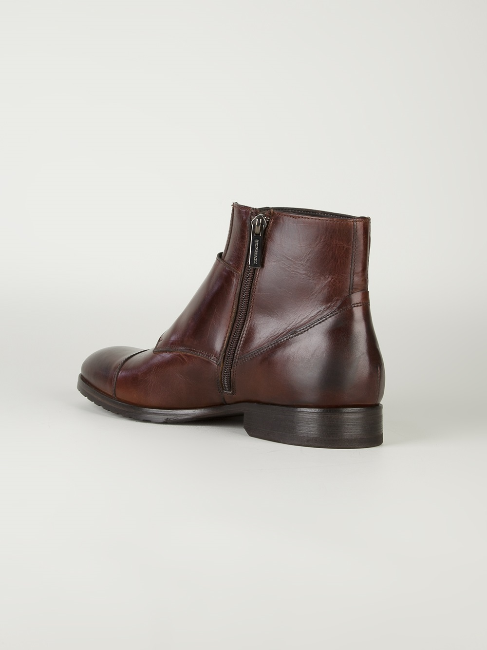 Lyst Bruno Magli Double Buckle Shoe In Brown For Men
