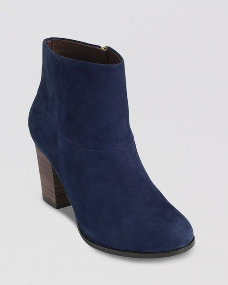 cole haan booties cassidy in blue blazer blue lyst
