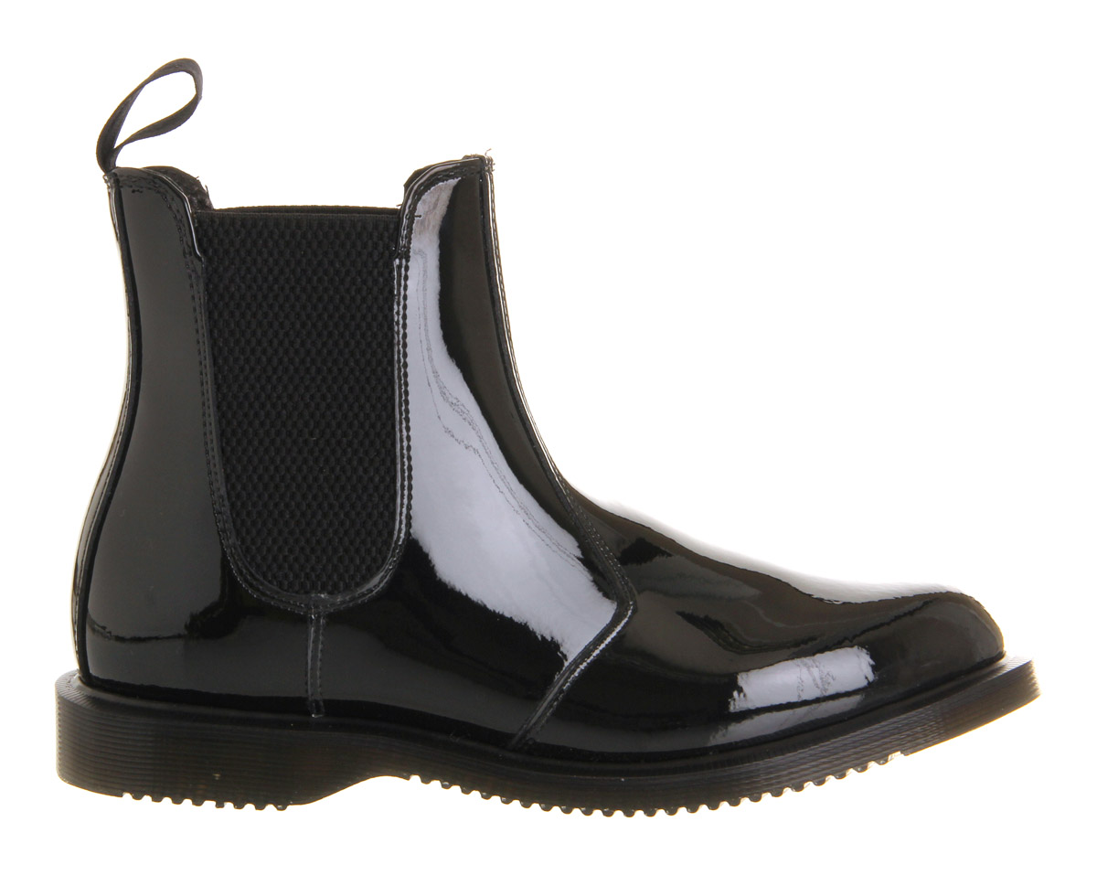 dr martens kensington faun chelsea boot in black lyst. Black Bedroom Furniture Sets. Home Design Ideas