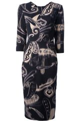 Etro Shift Dress - Lyst
