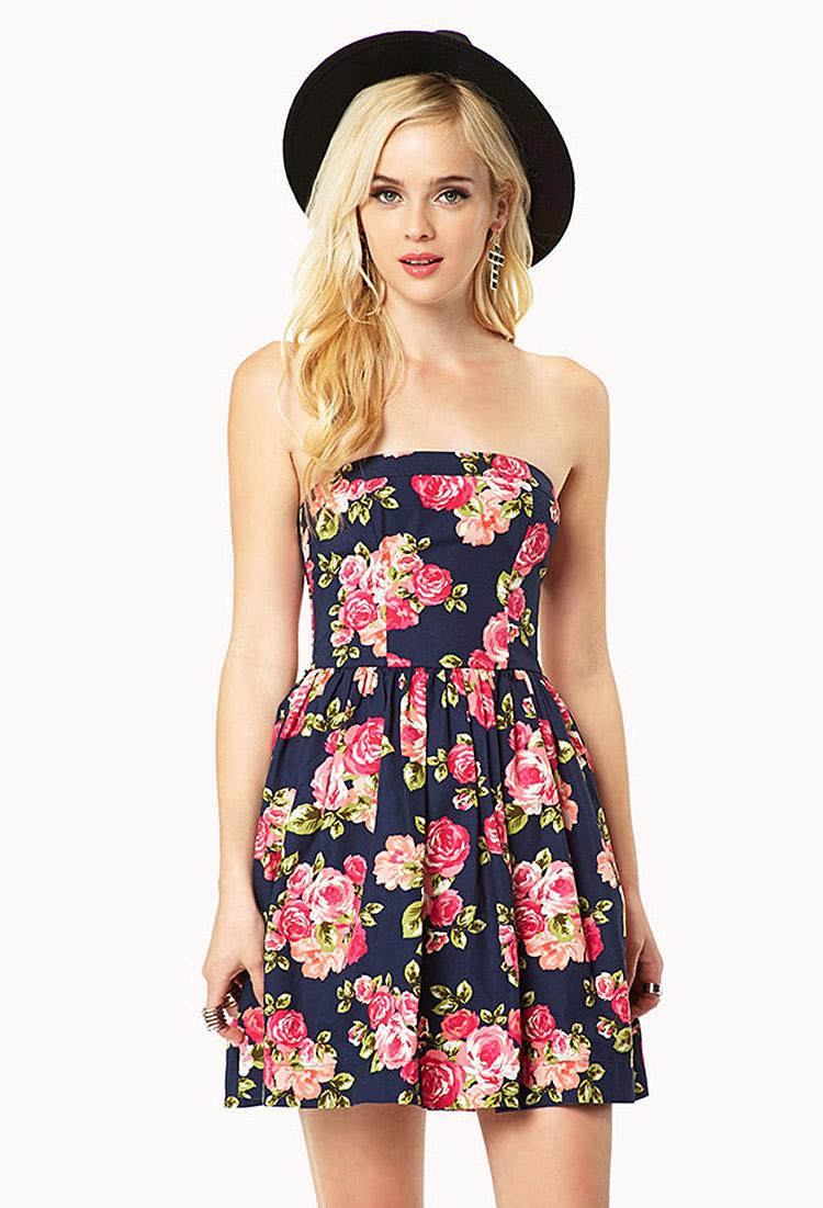Forever 21 Strapless Dresses – Fashion
