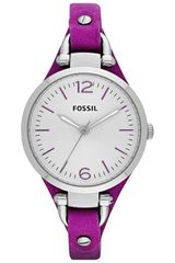 Fossil Womens Gracie Leather Cuff Strap Watch - Lyst