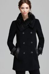 Mackage Coat Joy Fur Trim Collar - Lyst