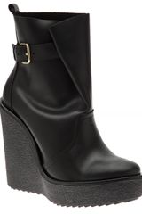 Pierre Hardy Wedge Ankle Boot - Lyst