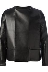 Rad By Rad Hourani Leather Jacket - Lyst