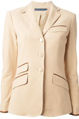 Ralph Lauren Riding Jacket - Lyst