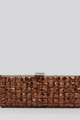 Sondra Roberts Clutch Metallic Tiles - Lyst