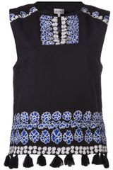 Suno Exclusive Embroidered Tank - Lyst