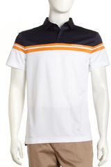 J. Lindeberg Gustavo Striped Golf Shirt  - Lyst