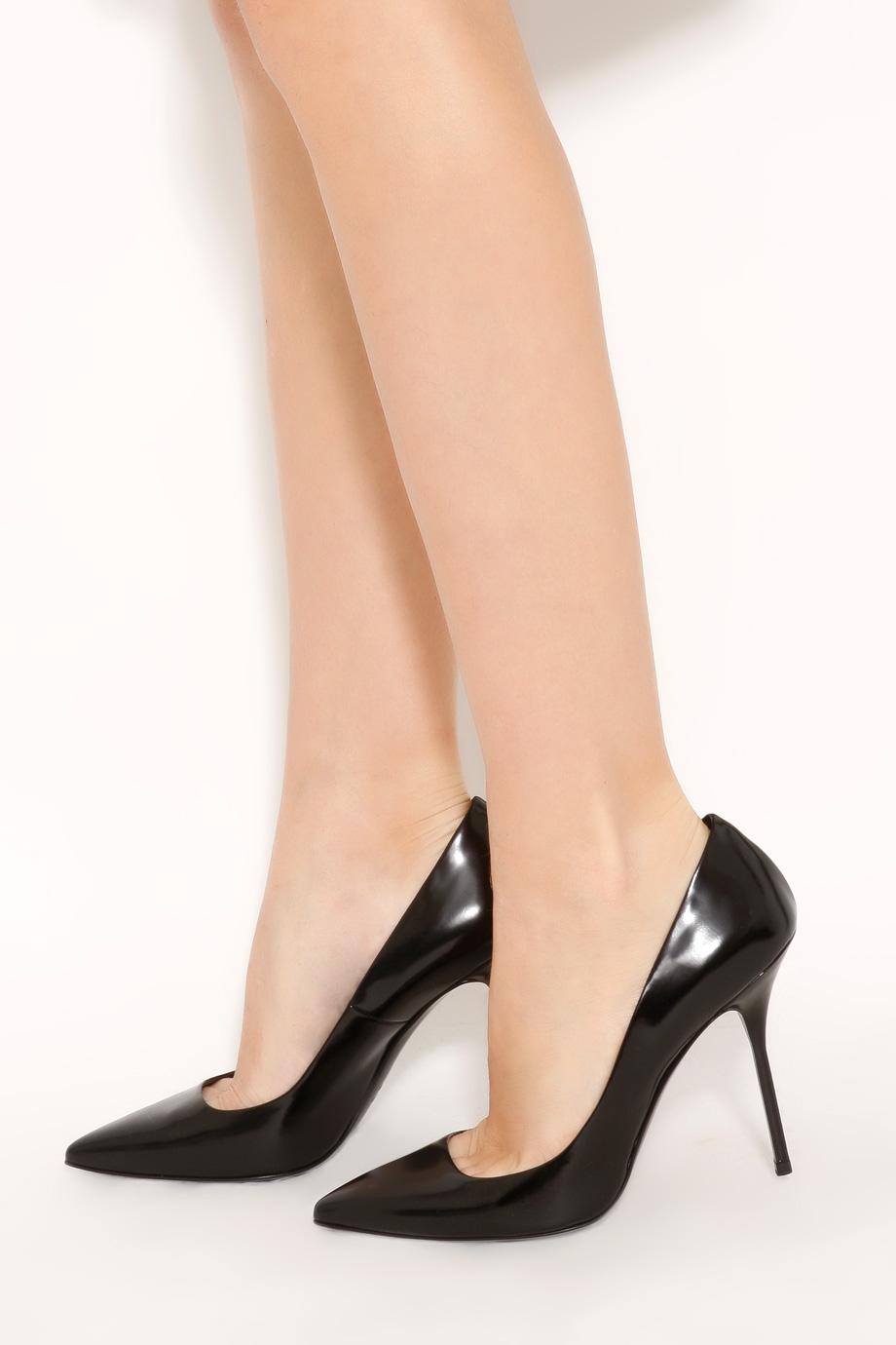 """91a9b406a125 Giaro Black shiny Giaro  """"Galana """" sandals …"""