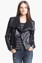 Veda Max Leather Moto Jacket - Lyst