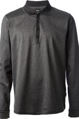 Boss by Hugo Boss Long Sleeve Polo Shirt - Lyst