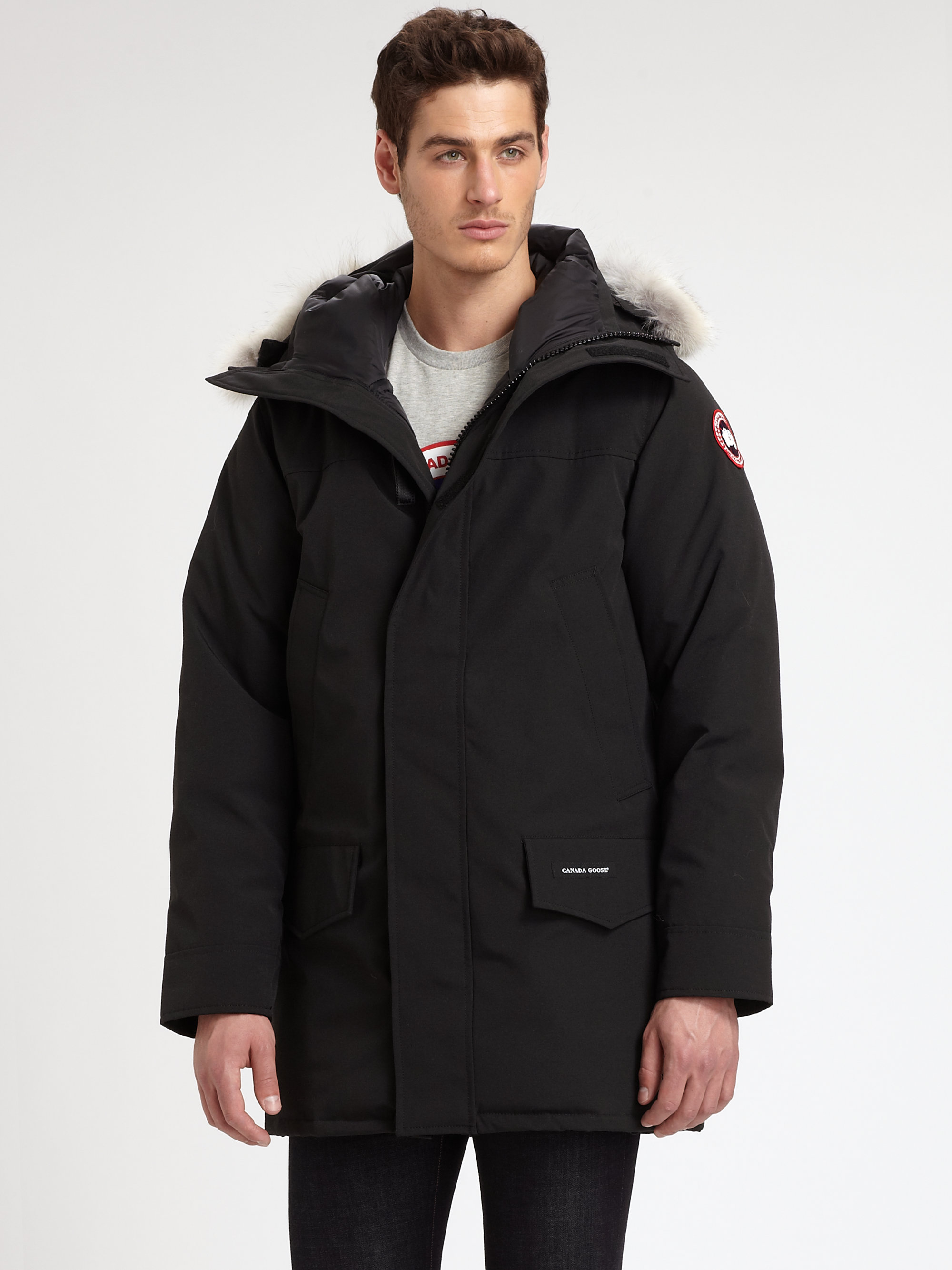 Canada Goose jackets sale authentic - Canada goose Langford Parka in Black for Men | Lyst