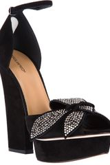 DSquared2 Calf Leather Embellished Sandal - Lyst