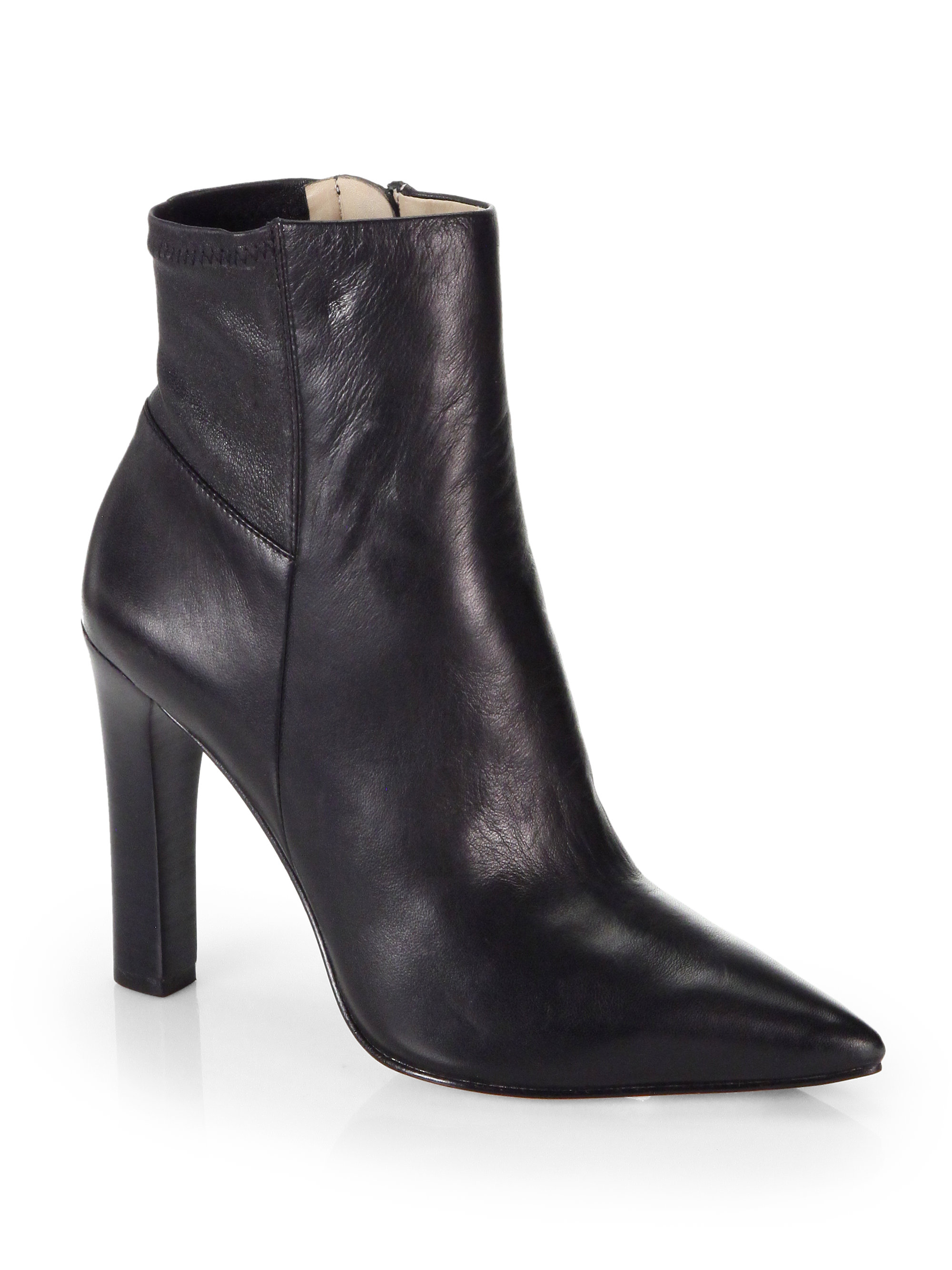 Elizabeth and james Vikki Leather Ankle Boots in Black | Lyst