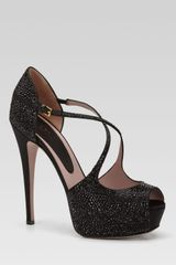 Gucci Lili Evening Platform Pump - Lyst