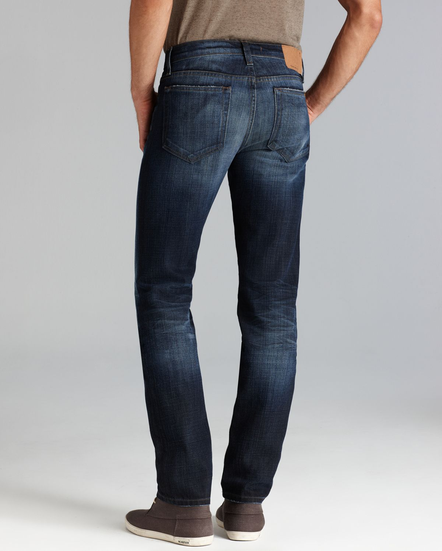 Lyst - Joe s Jeans The Brixton Slim Straight Fit in Benji in Blue ... e40cf8eef39