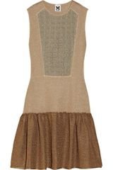 M Missoni Metallic Stretch Knit Dress - Lyst