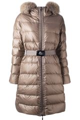 Moncler Padded Coat - Lyst