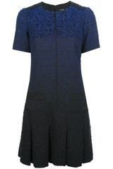 Proenza Schouler Ombre Tweed Dress - Lyst