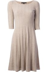 Ralph Lauren Black Label Cable Knit Dress - Lyst