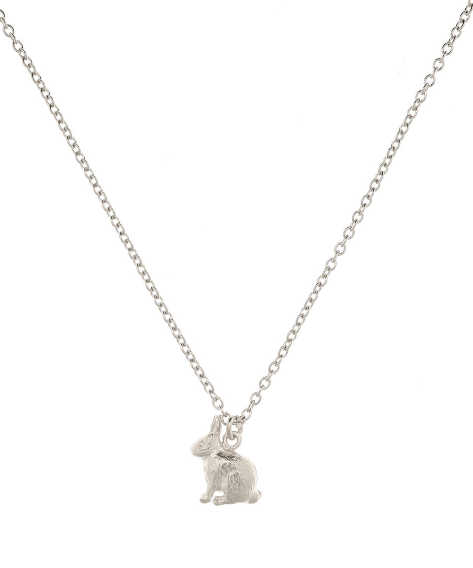 Alex Monroe Rabbit Necklace