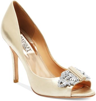 Badgley Mischka Davida Evening Pumps - Lyst
