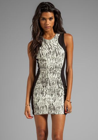Parker Contour Dress in Black - Lyst