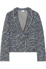 RED Valentino Wool and Cottonblend Tweed Jacket - Lyst