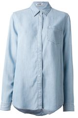 Acne Denim Shirt - Lyst