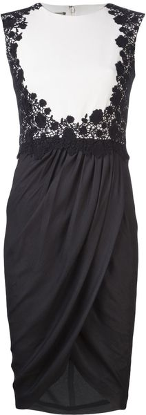 Giambattista Valli Lace Dress - Lyst