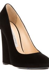 Gianmarco Lorenzi Wedge Heel Pump - Lyst