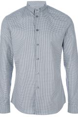 Givenchy Gingham Check Shirt - Lyst