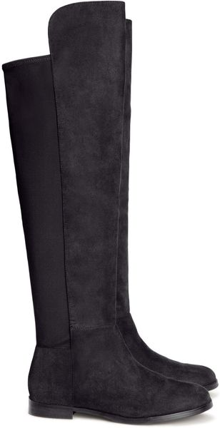 H&M Knee length Boots - Lyst