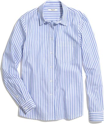 Madewell Cafeacute Striped Boy Shirt - Lyst