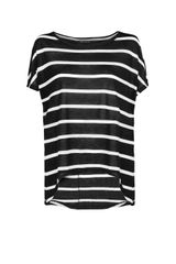 Mango Striped Lightweight Top - Lyst